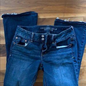 AE vintage artist jeans size 8 short